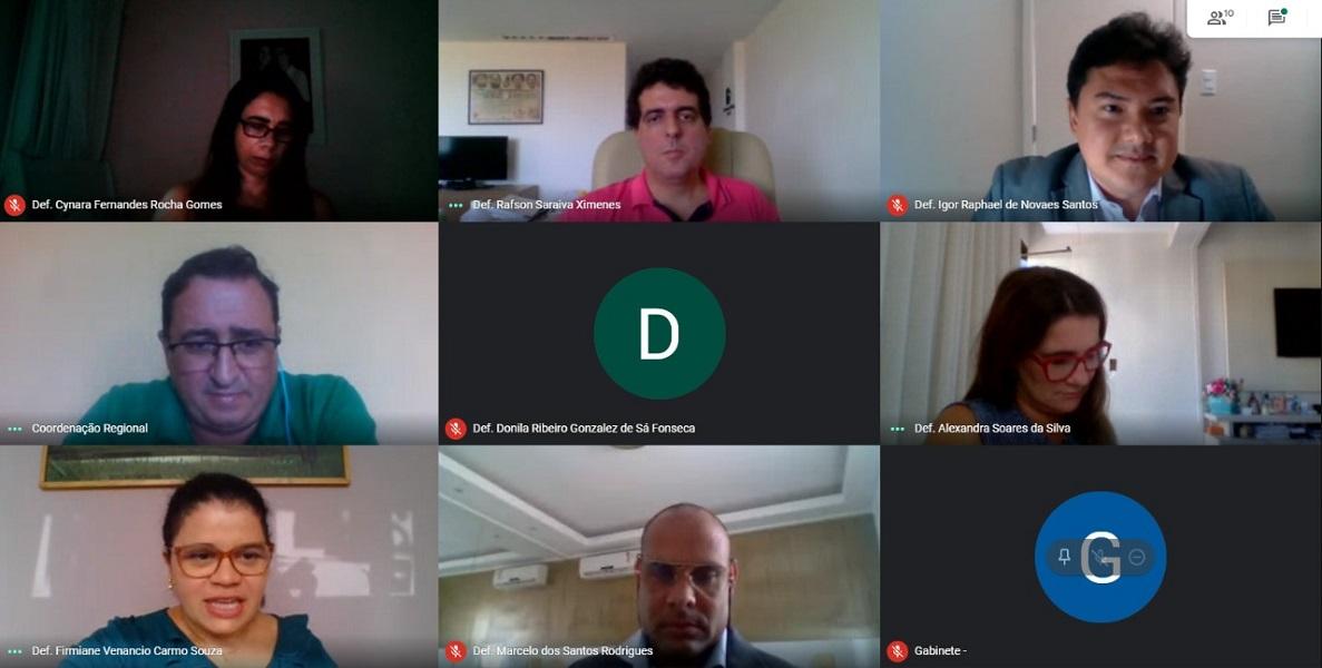 Diretoria da Adep-BA se reúne com DPG e estabelece relevantes diálogos para a classe