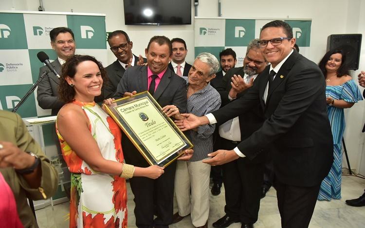 Defensoras públicas recebem título de cidadãs de Santo Amaro