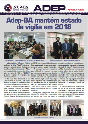 Adep Presente - Janeiro/2018
